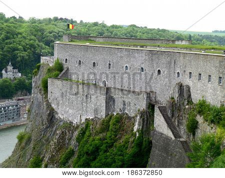 The Citadel of Dinant, Namur Province, Wallonia Region, Belgium
