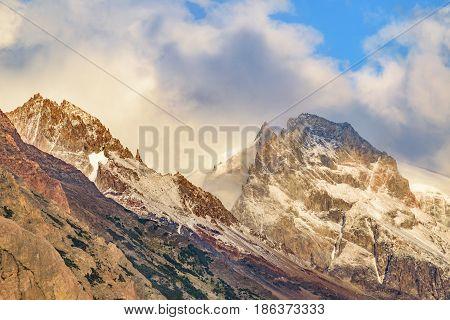 Snowy Mountains, Parque Nacional Los Glaciares, Patagonia - Argentina