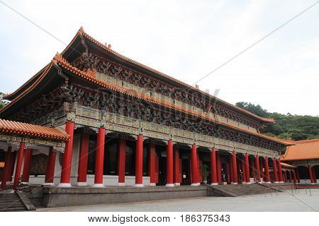 Main Shrine Of National Revolutionary Martyrs' Shrine In Taipei, Taiwan