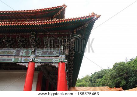 Main Shrine Of National Revolutionary Martyrs' Shrine In Taipei, Taiwan