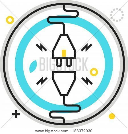 Color Box Icon, Limitless Energy Illustration, Icon