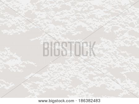 Light grunge texture. Rectangular abstract gray background. Stained surface. Vector illustration.