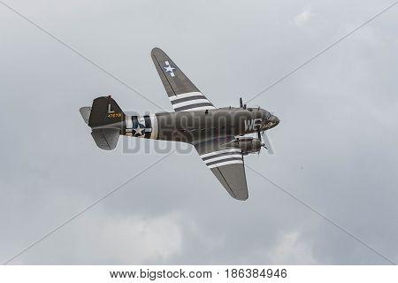 Douglas C-47B Skytrain Dc-3 On Display