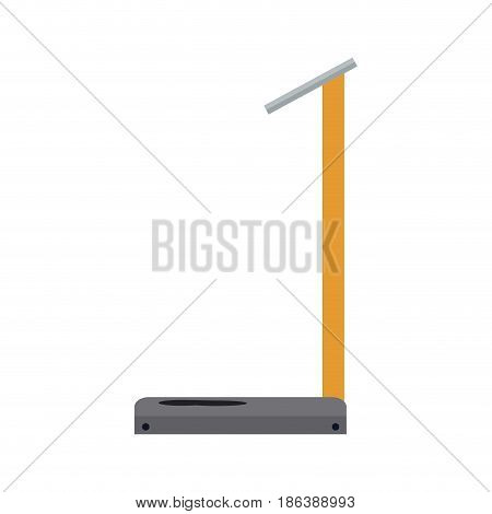 industrial weight scale capacity image vector illustration
