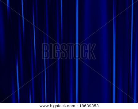 Fractal image of heavy velvet stage curtains.
