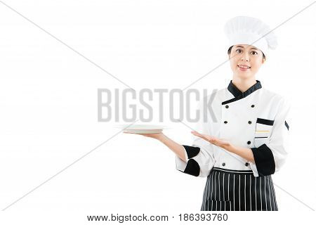 Multicultural Asian Model Play As Cook Or Chef