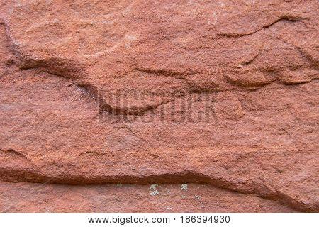 Red Sand Stone Texture horizontal background image
