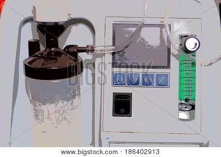 Art picture medical oxygen concentrator healthcare device