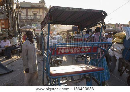Street Rickshaw Man