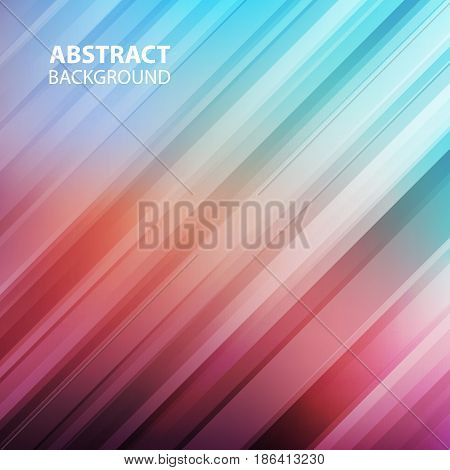 Diagonal straight lines abstract background. Vector illustration.