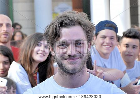 Giffoni Valle Piana Sa Italy - July 18 2016 : Lorenzo Richelmy at Giffoni Film Festival 2016 - on July 18 2016 in Giffoni Valle Piana Italy