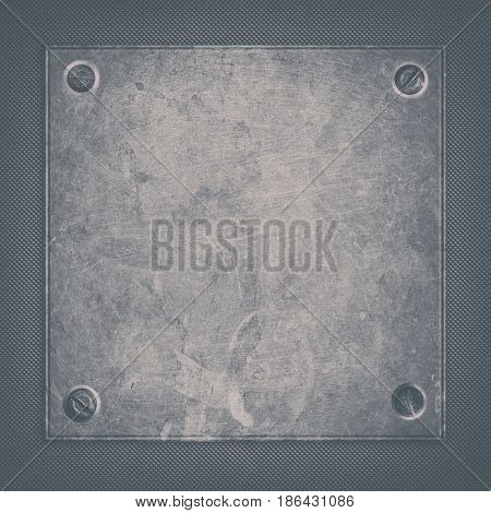 grunge metal plate abstract background