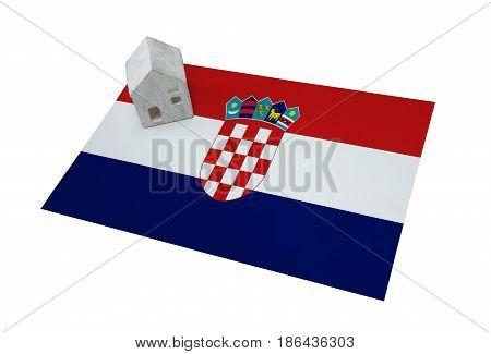 Small House On A Flag - Honduras