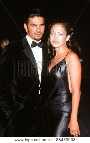 LOS ANGELES - JUN 5:  Ojani Noa, Jennifer Lopez at the Tom Ford of Gucci Hosts Fashion Benefit for APLA at the Santa Monica Airport on June 5, 1997 in Santa Monica, CA