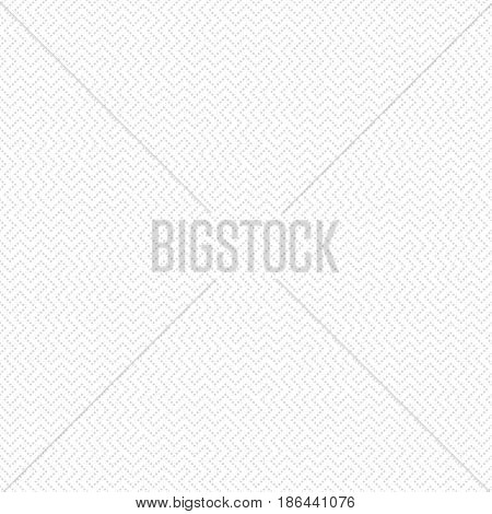 Seamless pattern. Modern stylish texture in the form of waves. Regularly repeating geometrical ornament with diagonal dotted zigzag lines. Vector element of graphical design