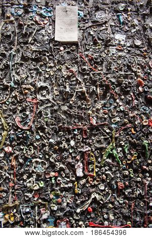 Bubblegum alley in san luis obispo California