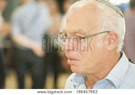 KNESSET, JERUSALEM, ISRAEL. June 10, 2014. Uri Ariel, Israeli politician, government minister.