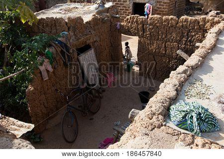 Pit In Lobi Village