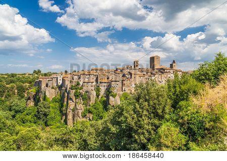 Medieval Town Of Vitorchiano In Lazio, Italy