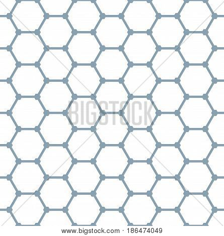 Seamless Hexagons Pattern.