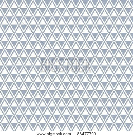 Seamless Diamonds And Triangle Pattern.