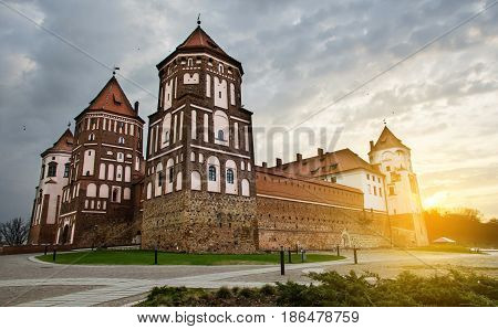 This historical castle is situated in central Europe in Belarus. It is medieval architecture and one of beautiful places of Belarus.