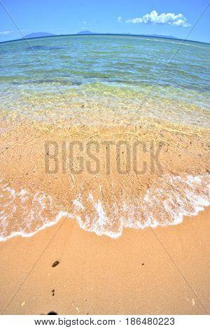 Paradise Beach  Indian Ocean Nosy     And Foam