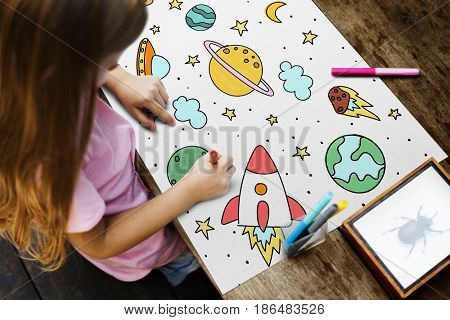 Children with a space concept study
