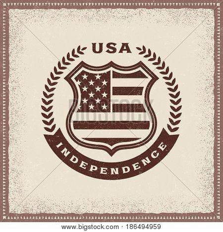 Vintage Independence Label