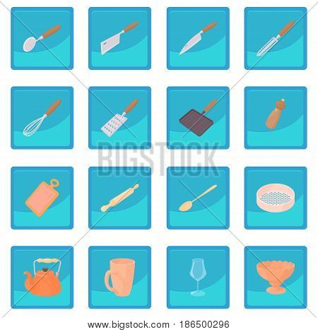 Cookware icon blue app for any design vector illustration