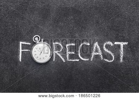 Forecast Word Watch