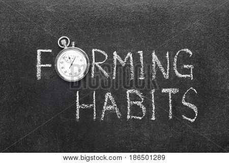 Forming Habits Watch