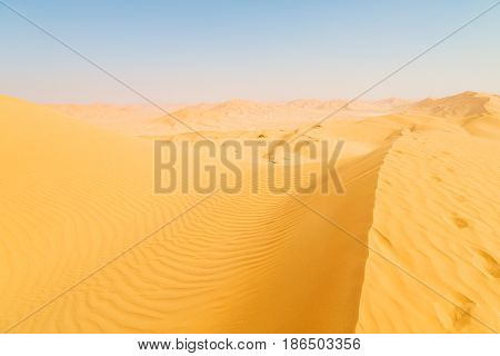 In Oman Old Desert   The Empty