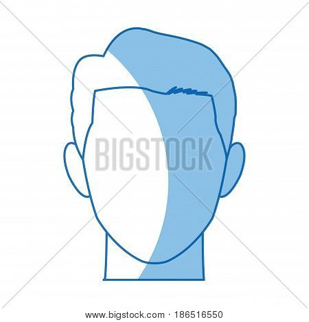 male avatar profile picture image vector illustration