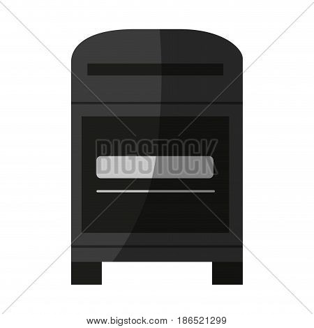 mailbox mail icon image vector illustration design