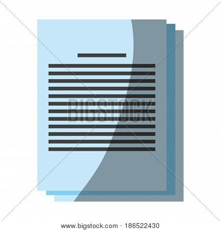 paper documents icon image vector illustration design
