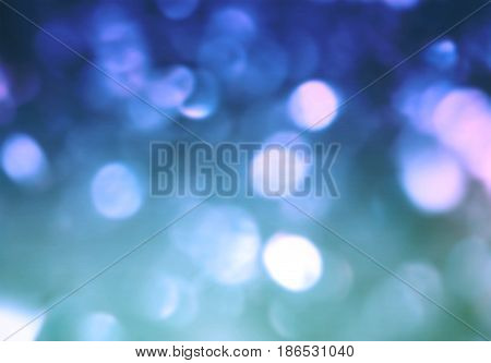 Blue shiny blurred blur abstract wallpaper bokeh background