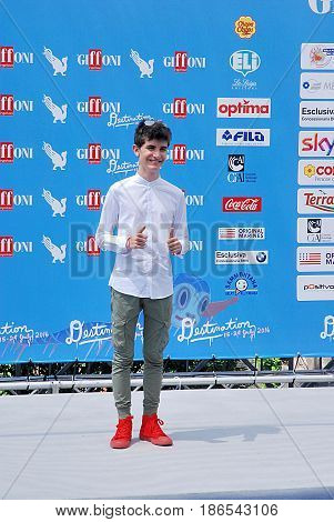 Giffoni Valle Piana Sa Italy - July 24 2016 : Pio Luigi Piscicelli at Giffoni Film Festival 2016 - on July 24 2016 in Giffoni Valle Piana Italy