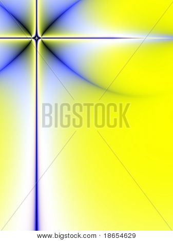 Fractal image of an abstract background border with copy space.