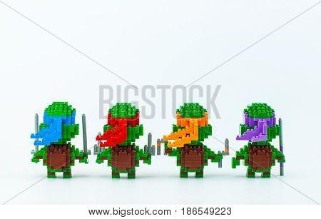 Tmnt Micro Blocks