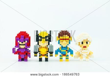 X-men Micro Blocks