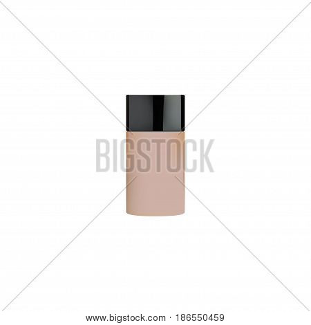 Realistic Foundation Element. Vector Illustration Of Realistic Concealer Isolated On Clean Background. Can Be Used As Concealer, Skincare And Foundation Symbols.
