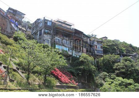 Townscape Of Jiufen, Taipei, Taiwan