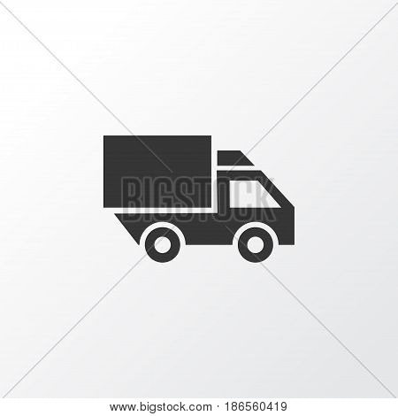Truck Icon Symbol. Premium Quality Isolated Van Element In Trendy Style.