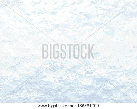 A 3D illustration of an ice like abstract background with colors.