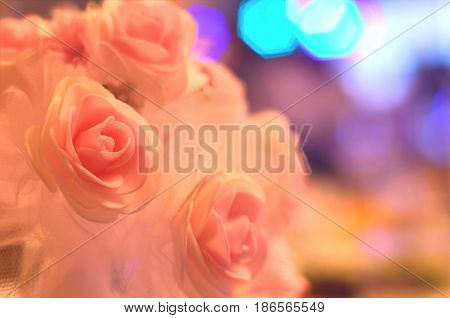 Detailed Photo Of A Beautiful Wedding Bouquet Of Flowers. Traditional And Obligatory Gift Of The Gro