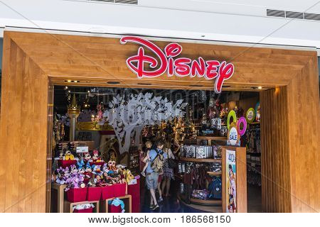 Cincinnati - Circa May 2017: Disney Store Retail Mall Location. Disney Store is the Official Site for Disney Shopping VIII