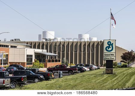 Sharonville - Circa May 2017: General Mills Cereal Plant. General Mills is a manufacturer branded consumer foods III