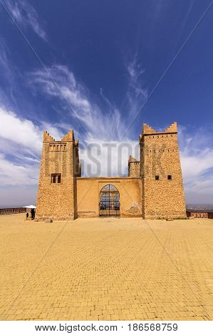 Ancient fortress named Kasbah Ras el-Ain in Asserdoun province of Beni Mellal Morocco.