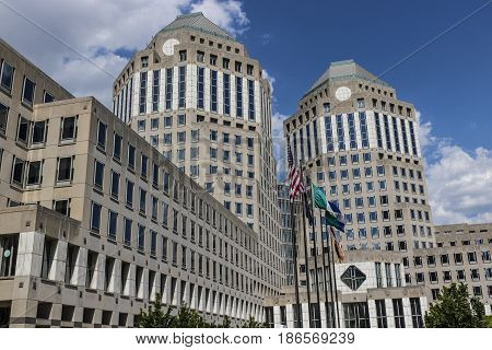 Cincinnati - Circa May 2017: Procter & Gamble Corporate Headquarters. P&G is an American Multinational Consumer Goods Company VI
